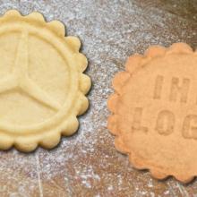 BrandBiscuit - die Kekse mit Ihrem eigenen Logo!
