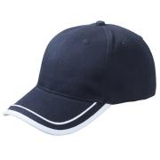 Piping Cap Dunkelblau/Weiss